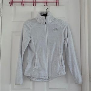 North Face fleece jacket in small